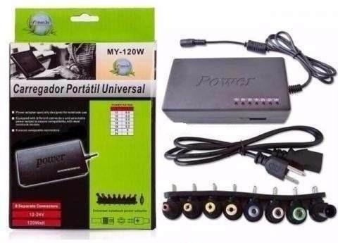 Kit Com 10 Carregadores Universal Para Notebook My-120w