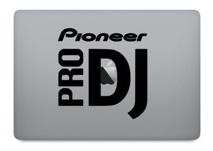 Adesivo Decorativo Deejay Pioneer Pro Dj - Dj-09