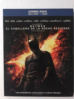 Batman El Caballero De La Noche Asciende (2 Blu Ray + Dvd)