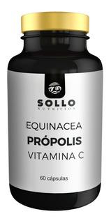 Equinacea, Própolis E Vitamina C - 60 Cápsulas - Imunidade
