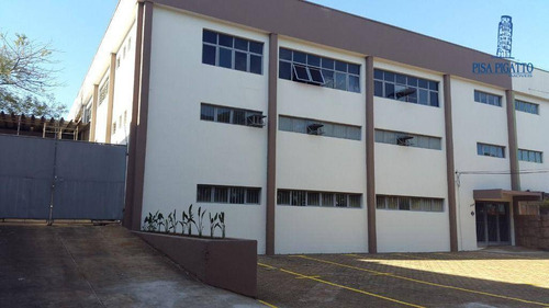 Imagem 1 de 8 de Galpão Para Alugar, 1400 M² Por R$ 20.000,00/mês - Jardim Santa Genebra - Campinas/sp - Ga0028