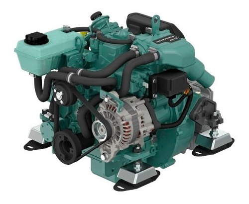Motor Diesel Veleiro Volvo Penta D1 30hp Sem Transmissão