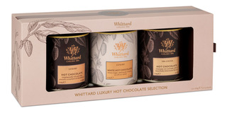 Set Chocolates En Polvo Whittard 3 Tarros 120g