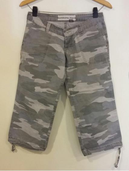 Pantalón Camuflado Kanikana Jeans Talle 26