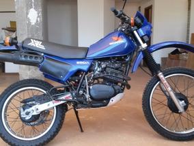 Moto Honda Xl 250r Placa Preta