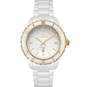 Relógio Feminino Technos Cerâmica Branco 2015cap/4b