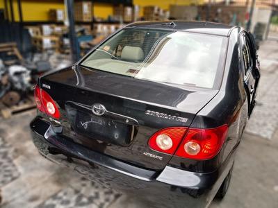 Sucata Toyota Corolla Xei 1.8 16v 2006 - Para Venda De Peças