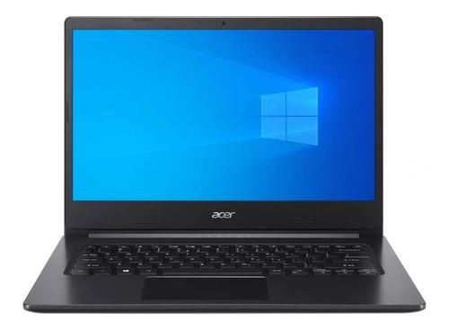 Imagen 1 de 3 de Laptop Acer Ryzen 3 3250u 4gb 1tb 14  Aspire A314-22-r6vm