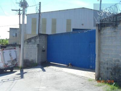 Galpão Comercial À Venda, Rio Abaixo, Itaquaquecetuba. - Ga0015