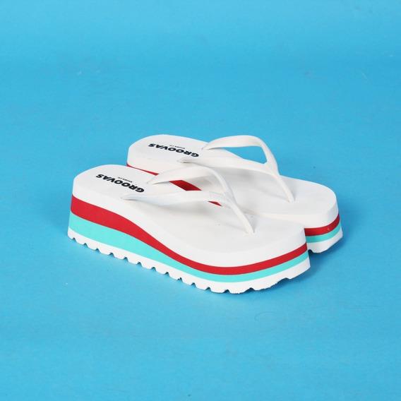 Ojotas. Sandalias. Plataformas. Taco. Zapatos De Mujer.