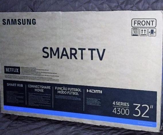 Smart Tv Led 32 Hd Samsung 32j4300 Com Connect Share Movie,