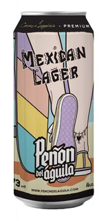 Cerveza Peñon Del Aguila Mexican Lager 473 Ml