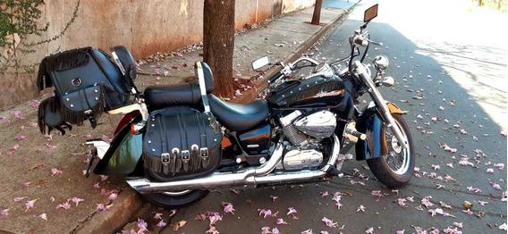 Honda/ Shadow 750/ Preta/ano 2007