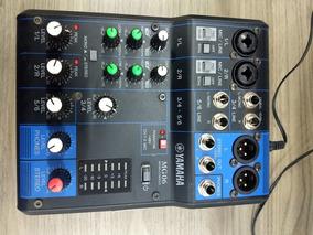 Mesa De Som Profissional Yamaha Mg06 - Mg 06 - 6 Canais
