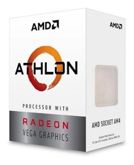 Processador Amd Athlon 200ge Cache 3.2ghz Am4