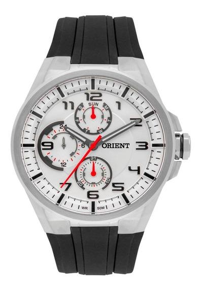 Relógio Orient Mbspm015 Masculino Visor Prata Elegante Lindo