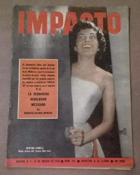 Vieja Revista Impacto # 322-1956