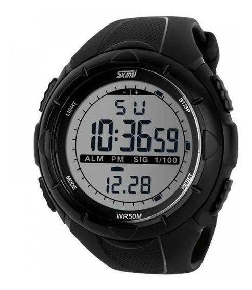 Relógio Masculino Skmei 1219 Militar Digital Esportivo Prova D