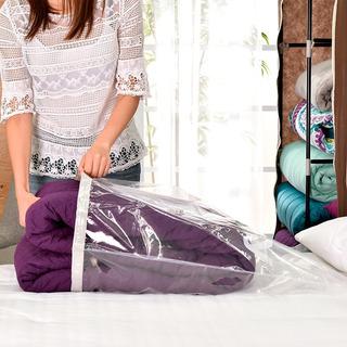 Paquete De 2 Bolsas Comprimibles Para Colchas, Cobertores Ó Edredones