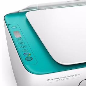 Impressora Multifuncional Hp 2675 Wifi Deskjet Ink Advantage