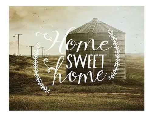 Jada Venia 9.75  X 7.75  Silo Home Sweet Home Caja De Luz De