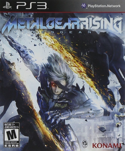 Metal Gear Rising Revengeance Juego Ps3 Original Play 3