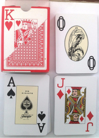 Baralho Naipes Fournier Vitoria Poker 818 Completo 55 Cartas