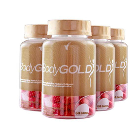 Bodygold Composto Emagrecedor Eleve Tratamento 2 Meses