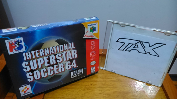 Apenas A Caixa, International Superstar Soccer Nintendo 64 L