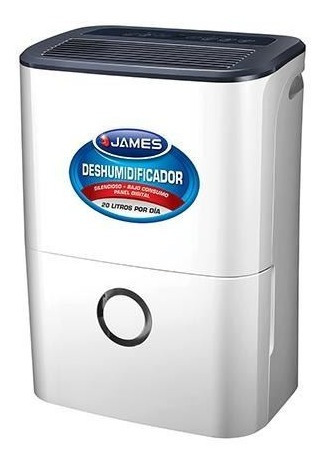 Deshumidificador James Dj 20 Litros Dia. Megastore Virtual