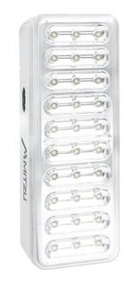 Lampara Recargable De Emergencia 30 Hiper Leds Hasta 8hrs