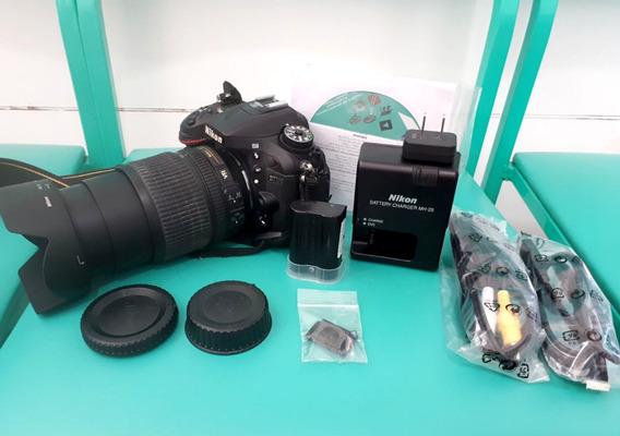 Câmera Nikon D7100 + Lente 18-105mm + 32gb Classe 10