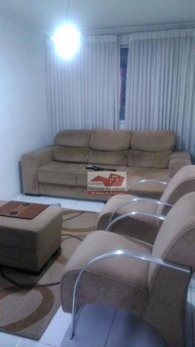 Apartamento Com 3 Dormitórios À Venda, 98 M² Por R$ 300.000,00 - Jardim Patente - São Paulo/sp - Ap4453