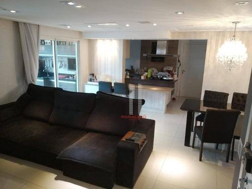 Apartamento À Venda, 120 M² Por R$ 1.200.000,00 - Parque Da Vila Prudente - São Paulo/sp - Ap2930