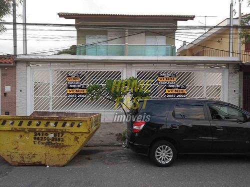 Sobrado Com 3 Dormitórios À Venda, 140 M² Por R$ 690.000,00 - Jardim Santa Francisca - Guarulhos/sp - So0346