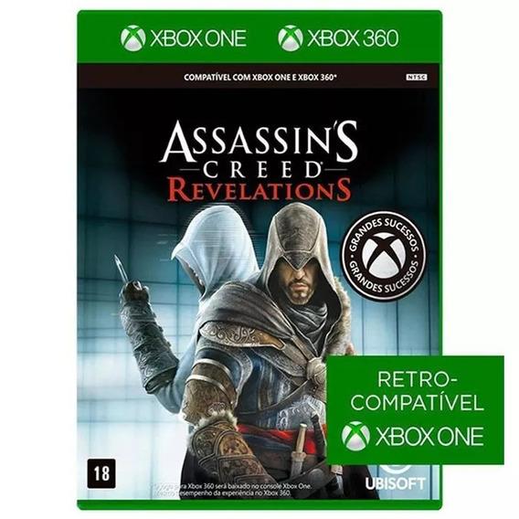 Assassins Creed: Revelations - Xbox One / 360 Mídia Física