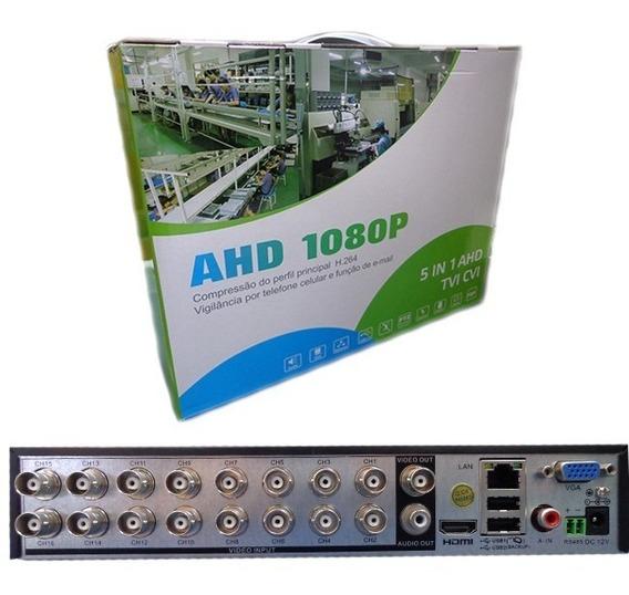 Dvr Ahd 16 Canais Híbrido 5 Em 1usb Hdmi 1080pc H.264