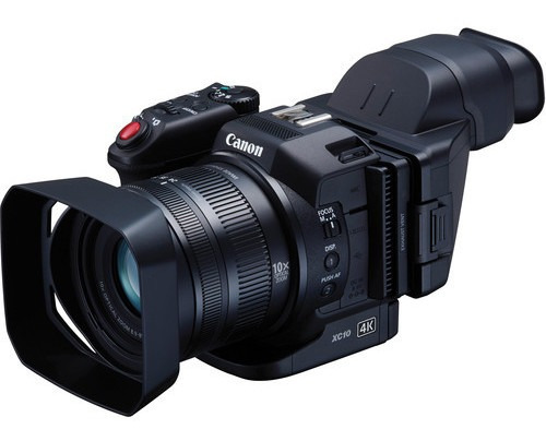 Filmadora Canon Xc10 4k Ideal Para Transmissões