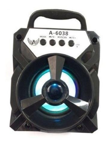 Caixa De Som - Altomex A-6038 Mp3 Pen Drive Usb Radio Fm