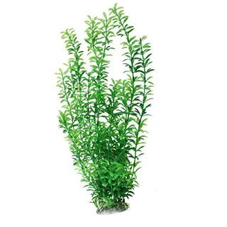 Uxcell Plástico Flor Planta Acuario Fishbowl
