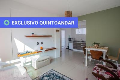 Apartamento No 1º Andar Mobiliado Com 1 Dormitório E 1 Garagem - Id: 892919049 - 219049