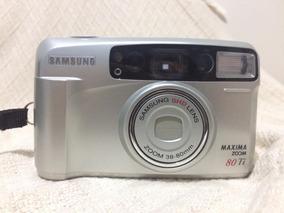 Máquina Fotográfica Samsung Fino 800 80 Ti Maxima Zoom