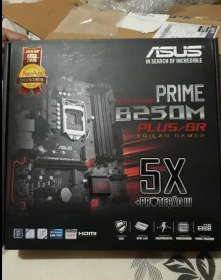 Placa Mãe Prime B250m Plus/br Edição Gamer