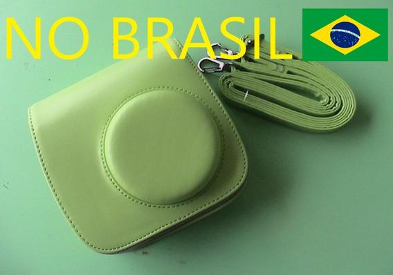 Case Verde Câmera Instax Mini 8 9 Bag Capa Bolsa No Brasil