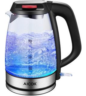 Hervidor De Agua Eléctrico Aicok 1,7 Litros 1500w