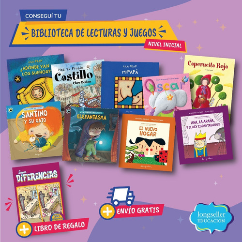 Biblioteca De Lecturas Y Juegos En Vacaciones 2: Inicial