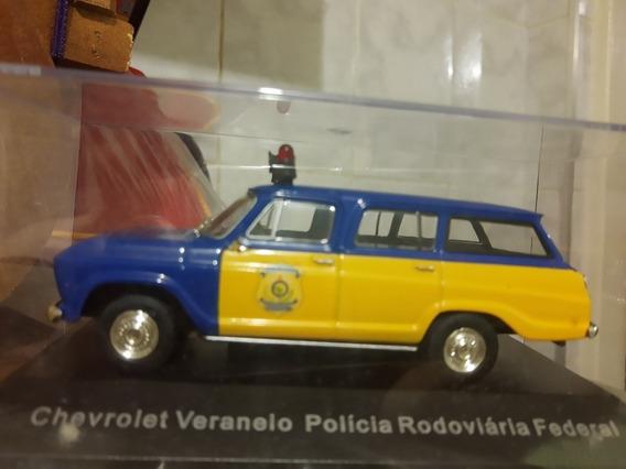 Miniatura De Veraneio Polícia Rodoviária Federal 1/43 Altaya