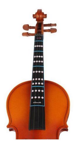 Adesivo Escala Natural/cromática Violino 4/4 Importado