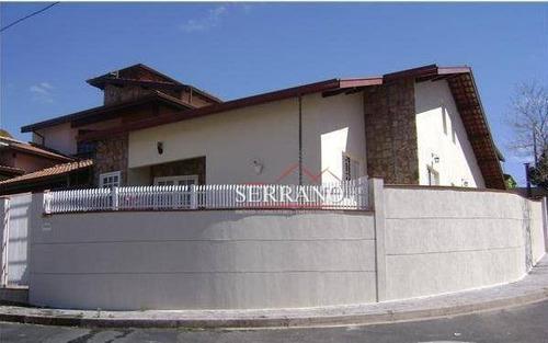 Casa Com 3 Dormitórios À Venda, 210 M² Por R$ 850.000,00 - Residencial Joana - Vinhedo/sp - Ca0538