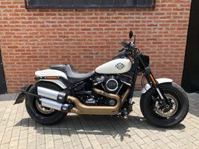 Harley Davidson Softail Fat Bob 2018 Único Dono